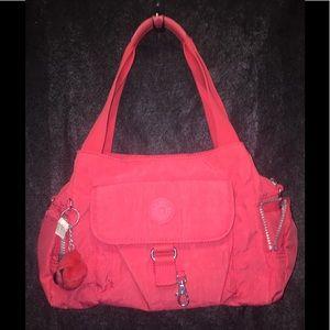 Kipling's Pink Nylon Shoulder Bag